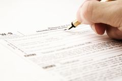 Paper work Royalty Free Stock Image