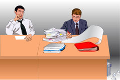 Paper work Stock Photo