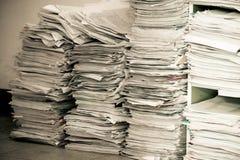 Paper work Stock Image