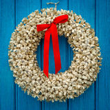 Paper wreath Stock Image