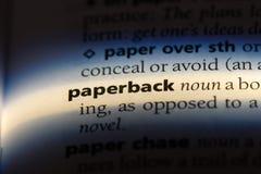 paperback arkivfoton
