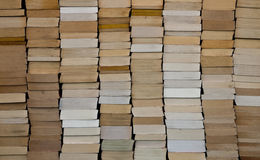 Paperback Books Background Stock Image