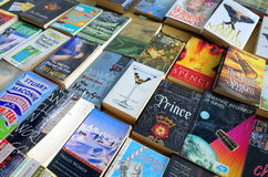 Paperback Books for Sale Stock Image