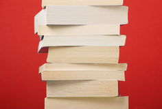 Paperback Stack Stock Image