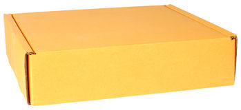 Paperboard box Royalty Free Stock Image