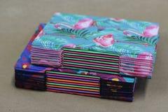 paperboard i tkanina fotografia stock