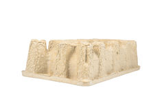 paperboard mold for packaging Royalty Free Stock Photo