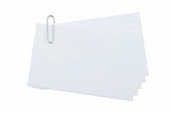 Paperclip στο απομονωμένο λευκό Στοκ φωτογραφίες με δικαίωμα ελεύθερης χρήσης