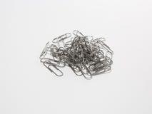 Paperclip металла Стоковая Фотография RF