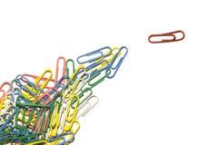 paperclip руководителя Стоковое Изображение