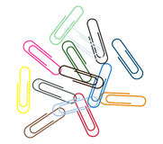 Paperclip Stock Foto