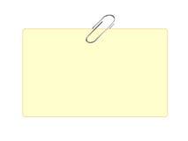 Paperclip stock fotografie