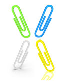 Paperclip Royalty Free Stock Photos