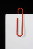 paperclip Стоковое Фото