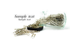 Paperclip Royalty Free Stock Photography