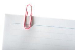 paperclip Arkivfoto