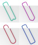 paperclip Obrazy Royalty Free