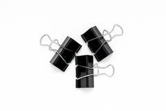 Paperclip Fotografie Stock Libere da Diritti