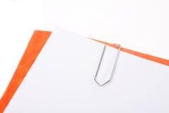 paperclip Στοκ φωτογραφία με δικαίωμα ελεύθερης χρήσης