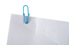 Paperclip Stock Image