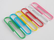 PaperClip. On a white background Stock Image