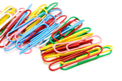 Paperclips Royalty Free Stock Images