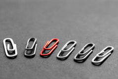 Paperclips Royalty Free Stock Photos