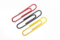Paperclips Stock Photo