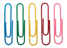 Paperclips Fotos de Stock