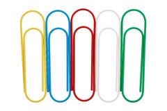 Paperclips Stock Foto