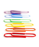 Paperclips Obraz Royalty Free