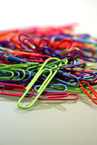 paperclips Obrazy Royalty Free