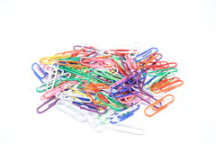 Paperclips stock foto's