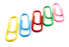 Paperclips 6 Stock Photos
