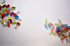paperclips Stock Fotografie