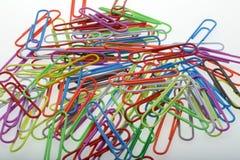 Paperclips twee Stock Fotografie