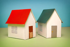 Papercraft House Royalty Free Stock Photography