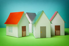 Papercraft House Stock Image