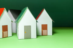 Papercraft House Royalty Free Stock Image