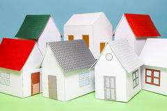 Papercraft House Royalty Free Stock Photo