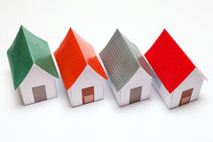 Papercraft House Stock Images