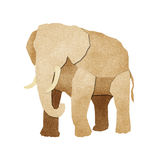 Papercut Elephant Recycled Paper Stock Images