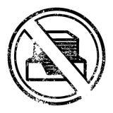 paperless symbol f?r kontor vektor illustrationer