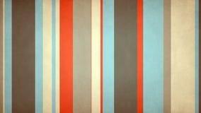 Paperlike flerfärgade band 53 //4k 60fps danska färger texturerade den videopd bakgrundsöglan vektor illustrationer