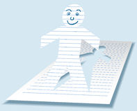 Paperman Stock Images