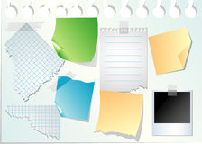 Paperon paper Royalty Free Stock Photo