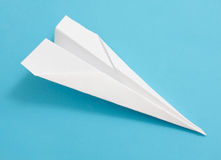 Paperplane Immagine Stock