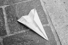 Paperplane Stock Photo