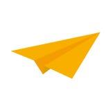 paperplane icon image Stock Photography