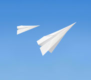 Paperplanes Stock Images
